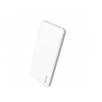 Powerbank elegant MCDODO 10 000mAh, cu două porturi USB, pentru Apple iPhone - alb