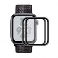 Sticlă durificată HAT PRINCE 3D, pentru Apple Watch 44mm - 2 buc.