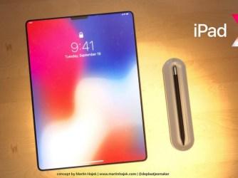 Bezrámečkový iPad Pro X