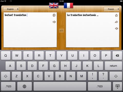 iPad aplicaciones itranslate