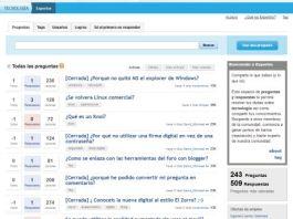 nuevo portal tecnológico de preguntas y respuestas de Infojobs