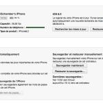 iOS 8 installé