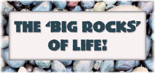The Big Rocks of Life