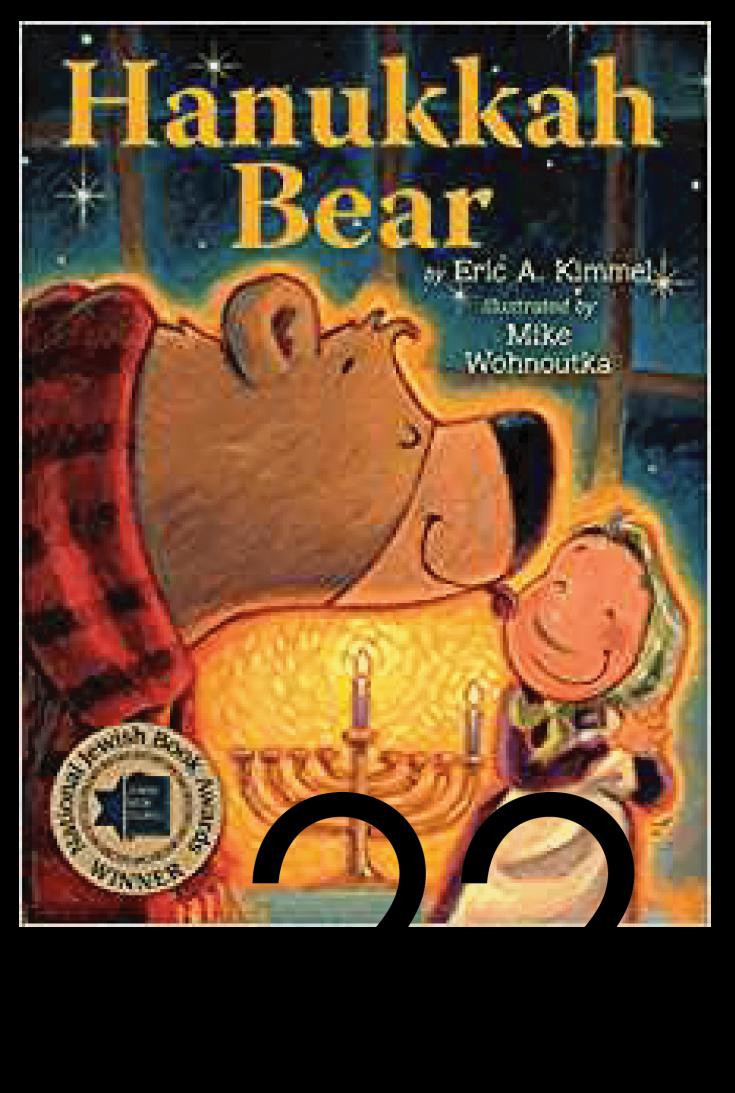 Hanukkah Bear Christmas and Holiday Book Countdown
