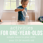 activities for a one year old ebook