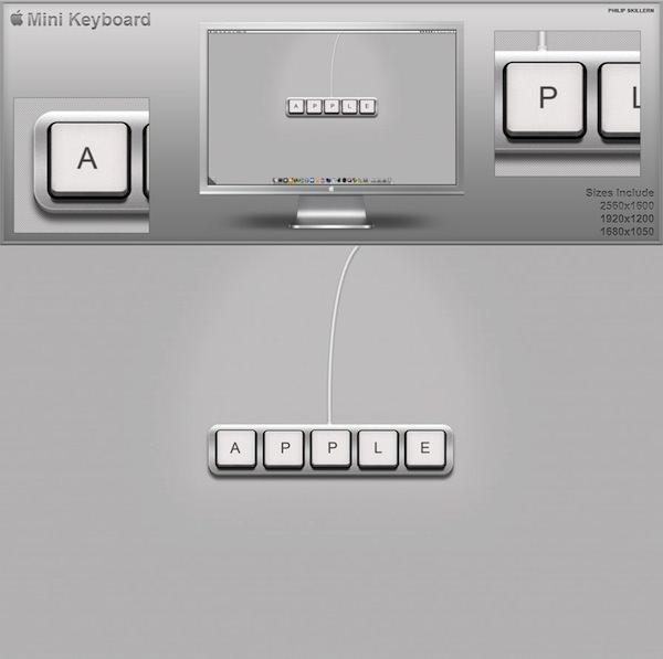 Apple mini keyboard