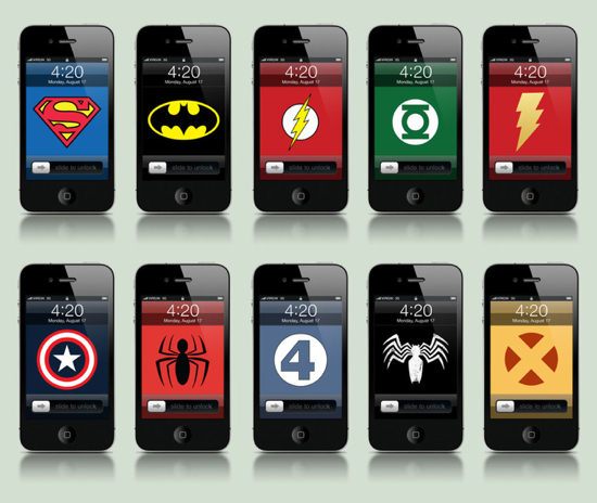 Comicbook iPhone Wallpapers