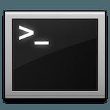 Terminal icon 160px