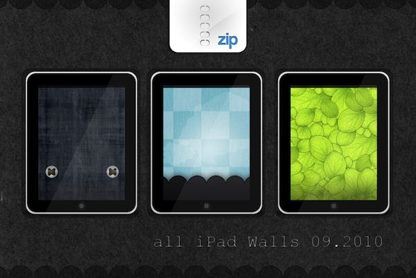 iPad wallpaper pack 09.10