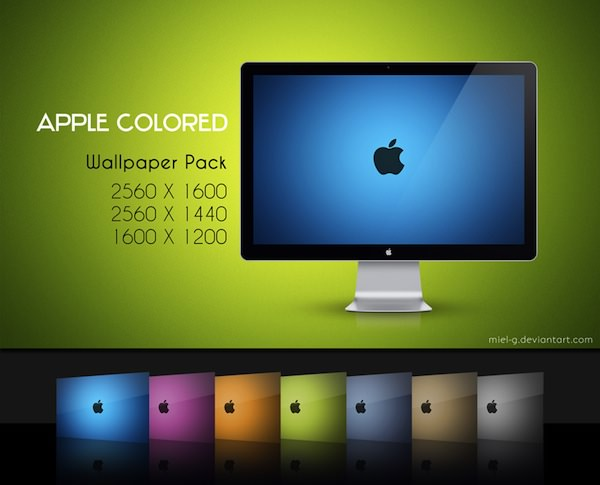 Apple Colored