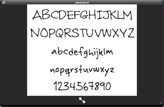 mac lettertype vergroten
