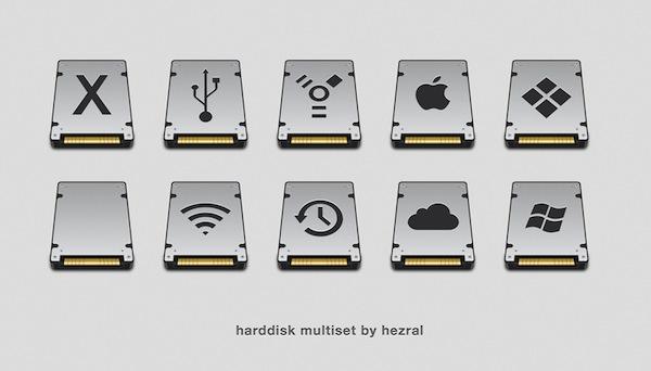 Harddisk Multiset