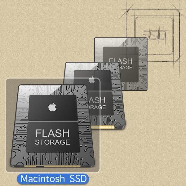 SSD (Mac Flash Storage) Icons
