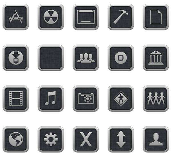 OS X Lion Folder Icons