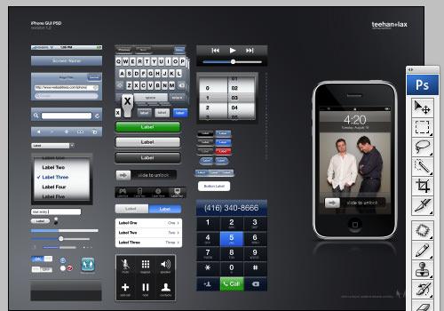 Ipad en iphone gui voor adobe photoshop appletips for Badkamer ontwerpen app ipad
