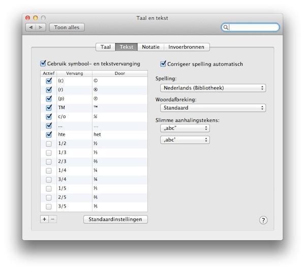 os x lion  nederlandstalige spellingcontrole  u2022 appletips