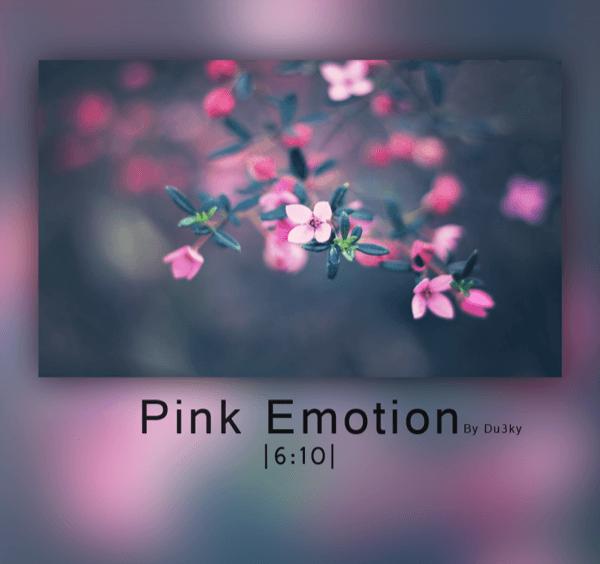 Pink Emotion