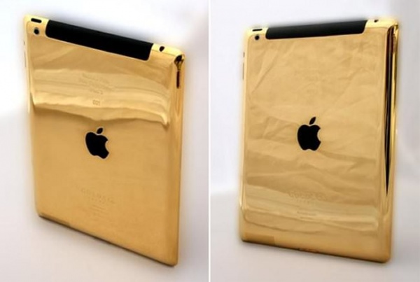 the new golden iPad
