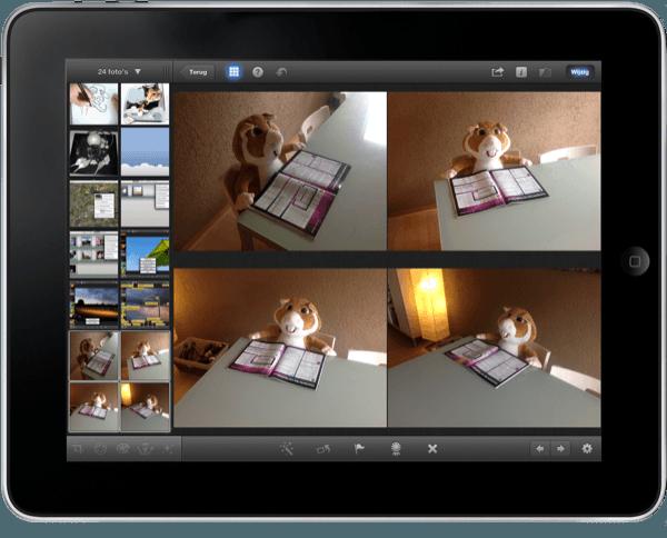 meerdere foto's selecteren in iPhoto