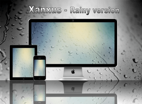 Xanxus Rainy Version