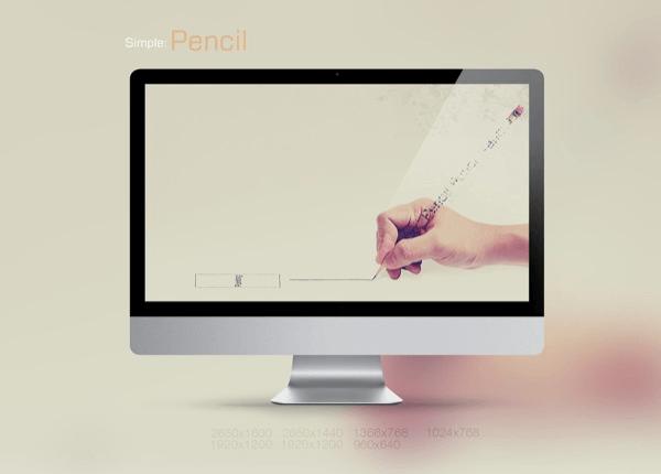 Simple 2 Pencil