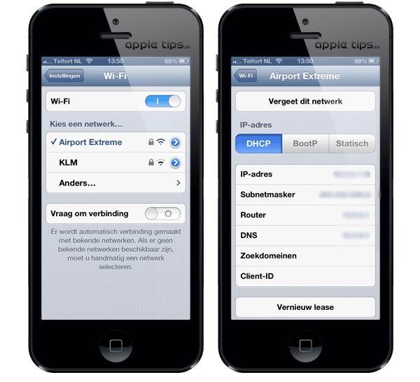 Ios 6 wi fi problemen oplossen appletips - Doe de toegangsgalerij opnieuw ...