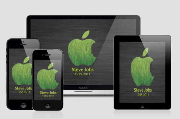 Steve Jobs iOS 6 Wallpaper Pack