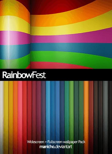 Rainbowfest Wall
