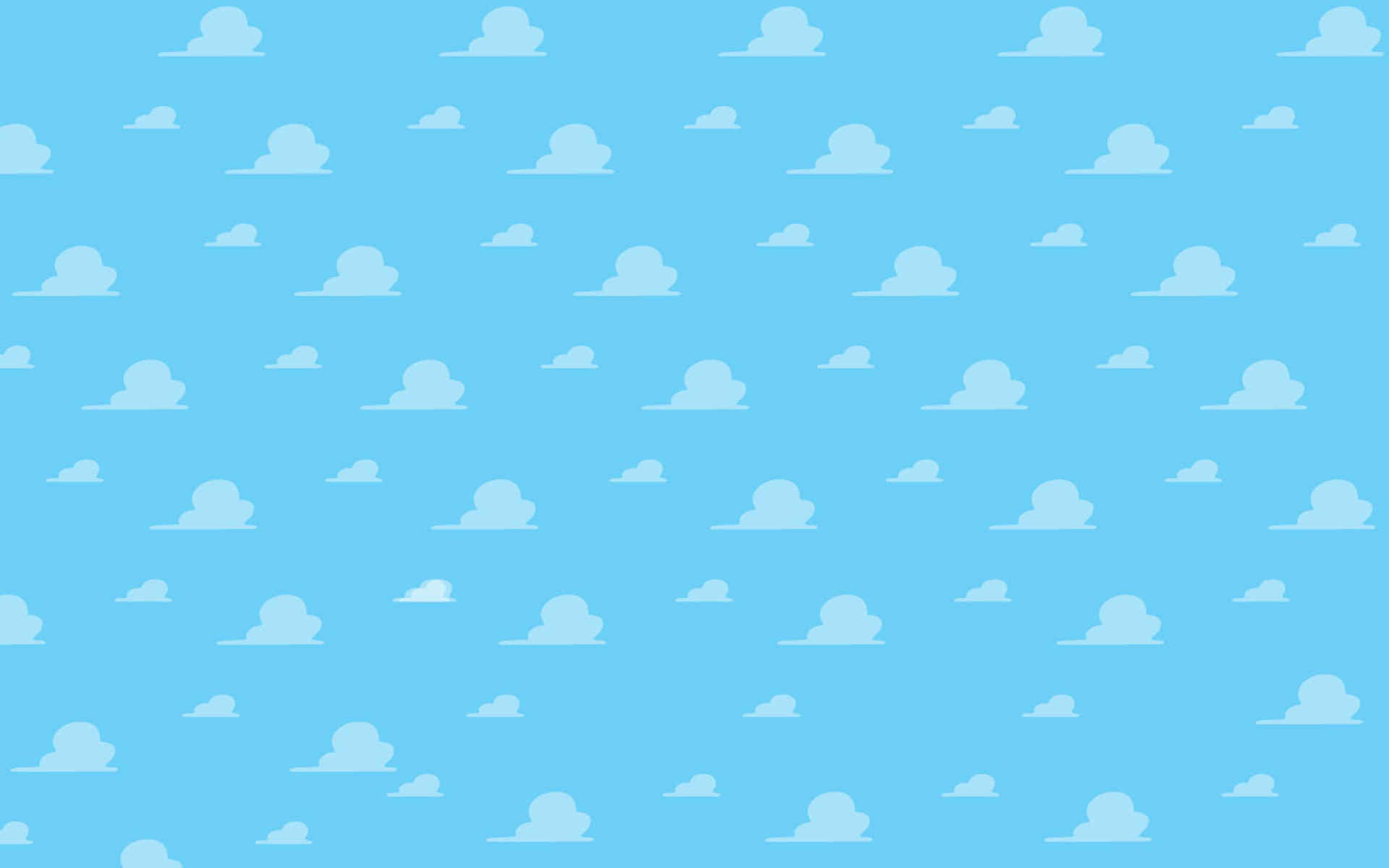 toy story logo clouds