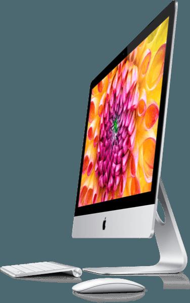 The New iMac Wallpaper (Flower)