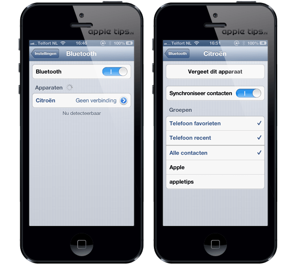 iOS 6: Bluetooth problemen oplossen appletips