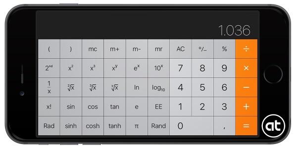 wetenschappelijk rekenmachine