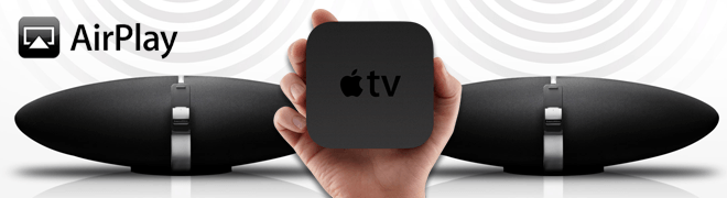 Airplay luidsprekers selecteren voor de Apple TV