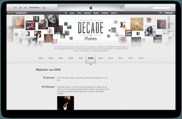 iTunes10jaar