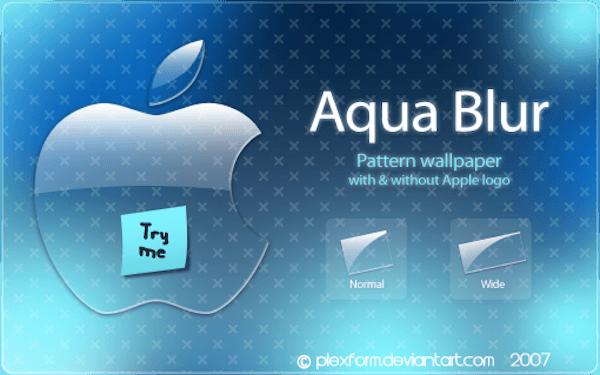Aqua Blur