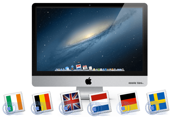 EU Flag icons (Mail OS X)
