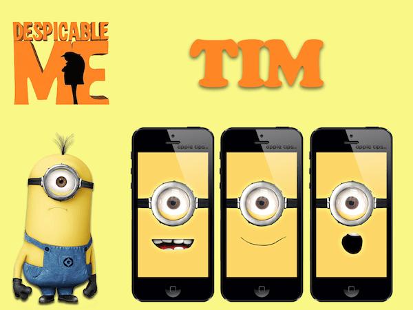 Minion Tim (despicable me)