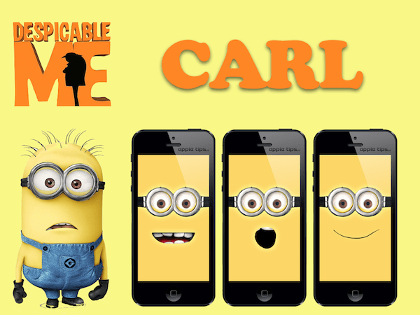Minion Carl (despicable me)
