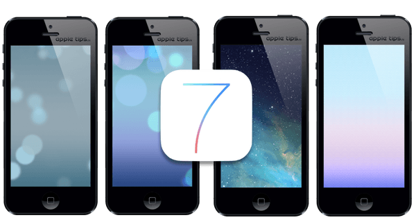 iOS 7 wallpapers pack