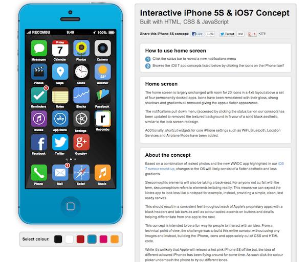 iphone5S+ios7