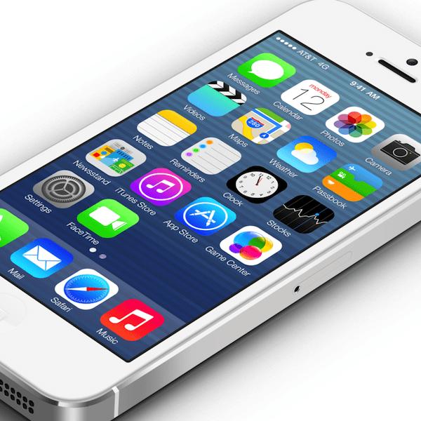 iOS 6 redesign