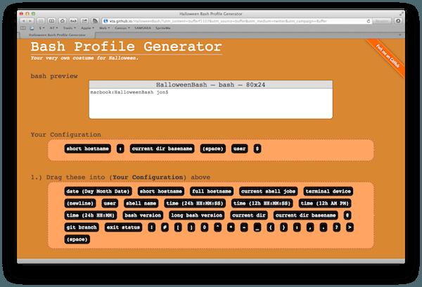 bash generator