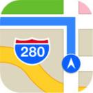 maps kaarten icon retina