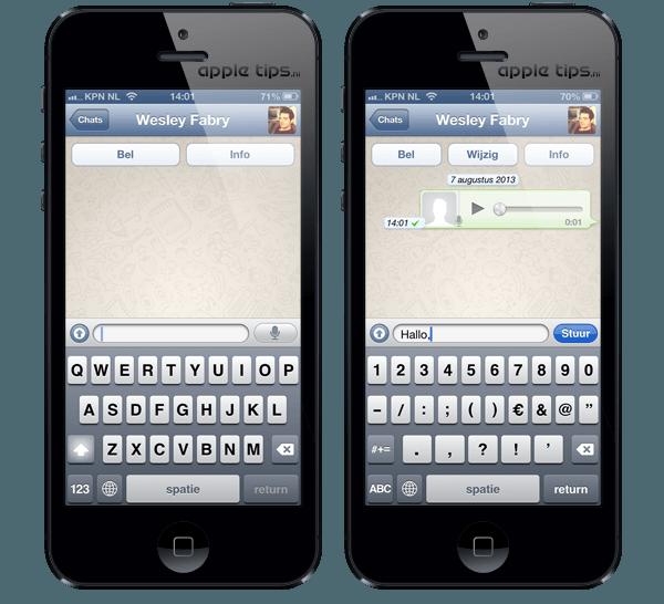 whatsapp nieuwe telefoon