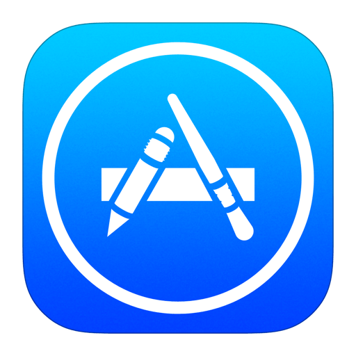App Store iOS logo