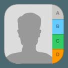contacten icon iOS