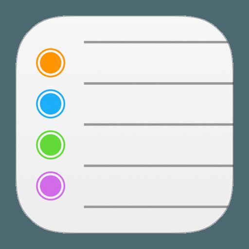 logo herinneringen iOS