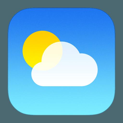 Weer applicatie iOS (logo)