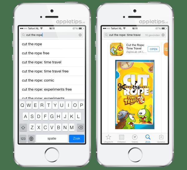 zoeken-app-store