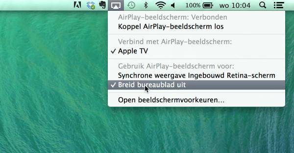airplaybeeldscherm